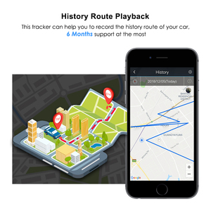 Image 5 - Mini GPS Tracker Car GPS Tracker Waterproof IP65 Google Maps Real time Track Shock Cut Line Alarm GPS Locator Geo fence Free APP