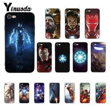 Yinuoda Iron Man Space Armor Marvel Fashion Phone Case untuk iPhone 8 7 6 6S 6Plus X XS MAX 5 5S SE XR 10 11 11pro 11 Promax(China)