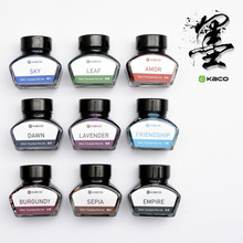 Freeshipping KACO lynx genuine advanced carbon ink color ink 30ML/ bottle Senior fountain pen ink