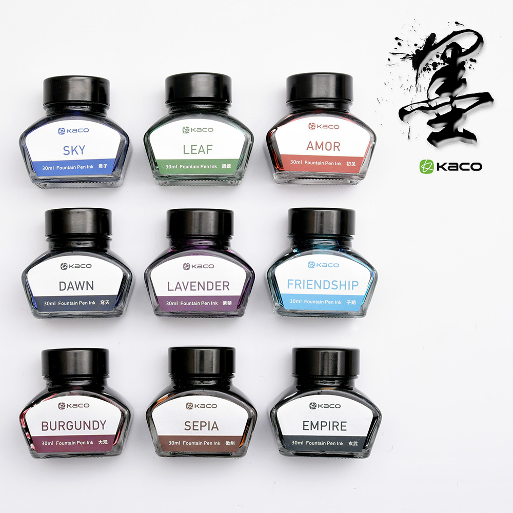Freeshipping KACO lynx genuine advanced carbon ink color ink 30ML/ bottle Senior fountain pen ink чехол ag brand для снегохода lynx 69 yeti транспортировочный цвет черный