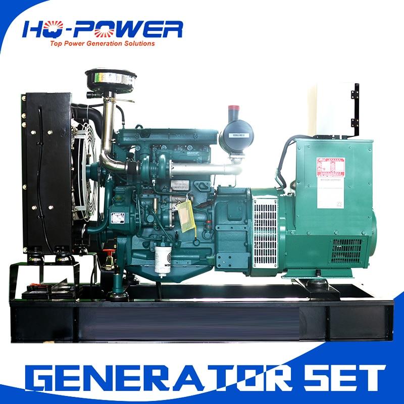 weichai deutz brand 220v permanent magnet 40kw diesel electric start generator