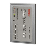 Brand Kingspec KSD ZF18 6 064MS 1 8 Inch ZIF IDE SSD 64GB Solid State Hard