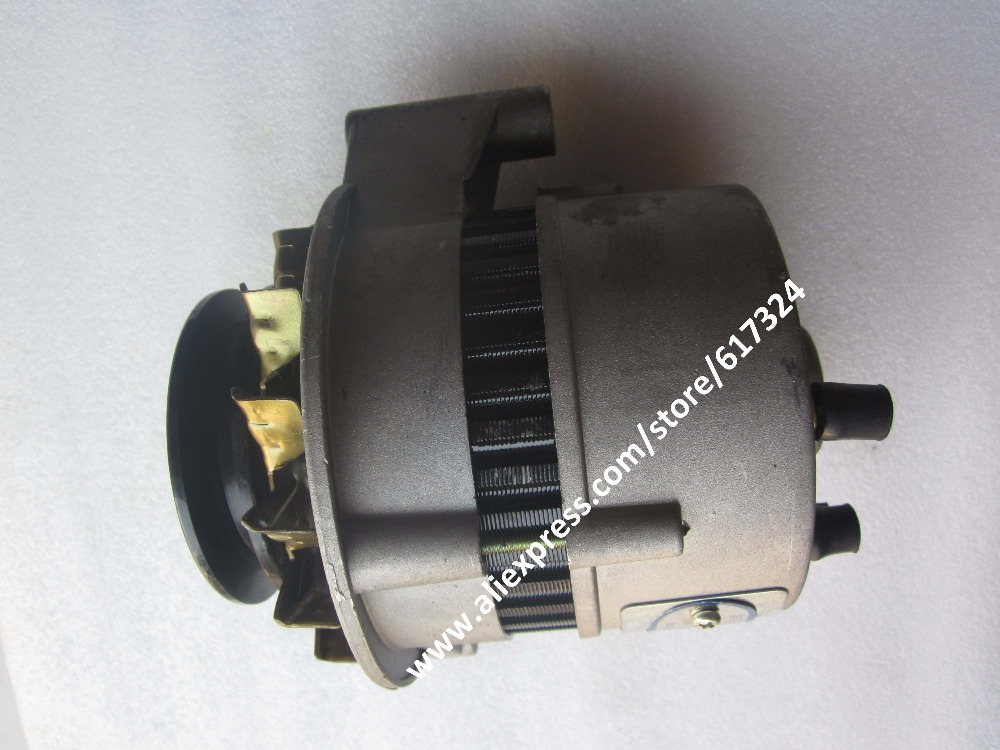 Laidong KM4L22BD-4E parts, the alternator 12V, part number: lacywear km 4 gus
