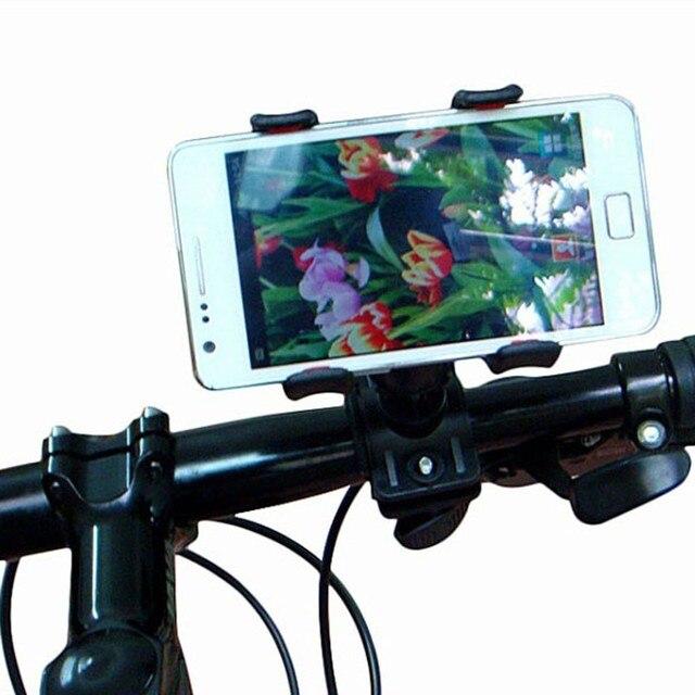a9fbfbe0992 Inteligente Universal Gopro Outdoor Guiador Da Bicicleta Da Bicicleta Caso  de Suporte Porta Celular Mount Cradle