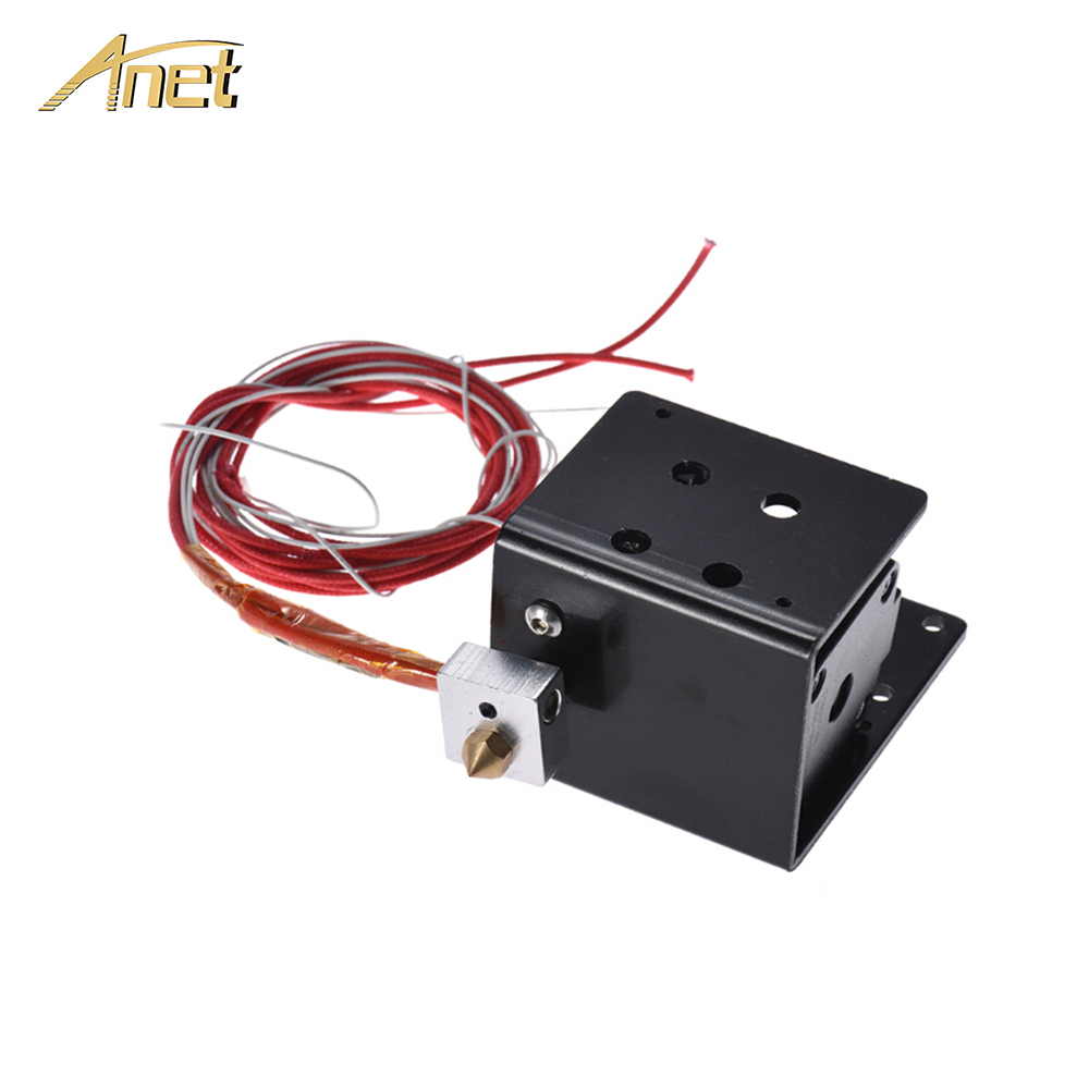 Anet 3D Printer Extruder J head Kit Feeding Nozzle Motor 3D Printer Parts for 1 75mm