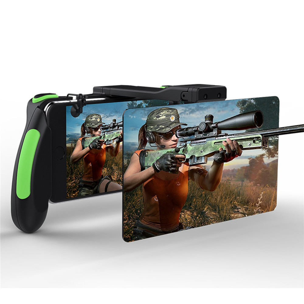 For PUBG Mobile Game Controller Gamepad Trigger Aim Fire Button Shooter with Zoom function Gamepads Joystick For iPhone Android For PUBG Mobile Game Controller Gamepad Trigger Aim Fire Button Shooter with Zoom function Gamepads Joystick For iPhone Android