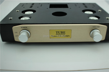 Audio Chassis Amplifier Chassis Put Chassis Iron Opening The Case DIY EL34+6N9P+5Z3P Audio Chassis 1set