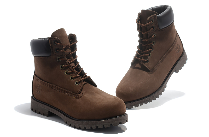 TIMBERLAND Classic Men 6-Inch Premium 10061 Dark Brown Ankle Motorcycle Boots For Man Genuine Cow Leather Martin Coffee Shoes  3