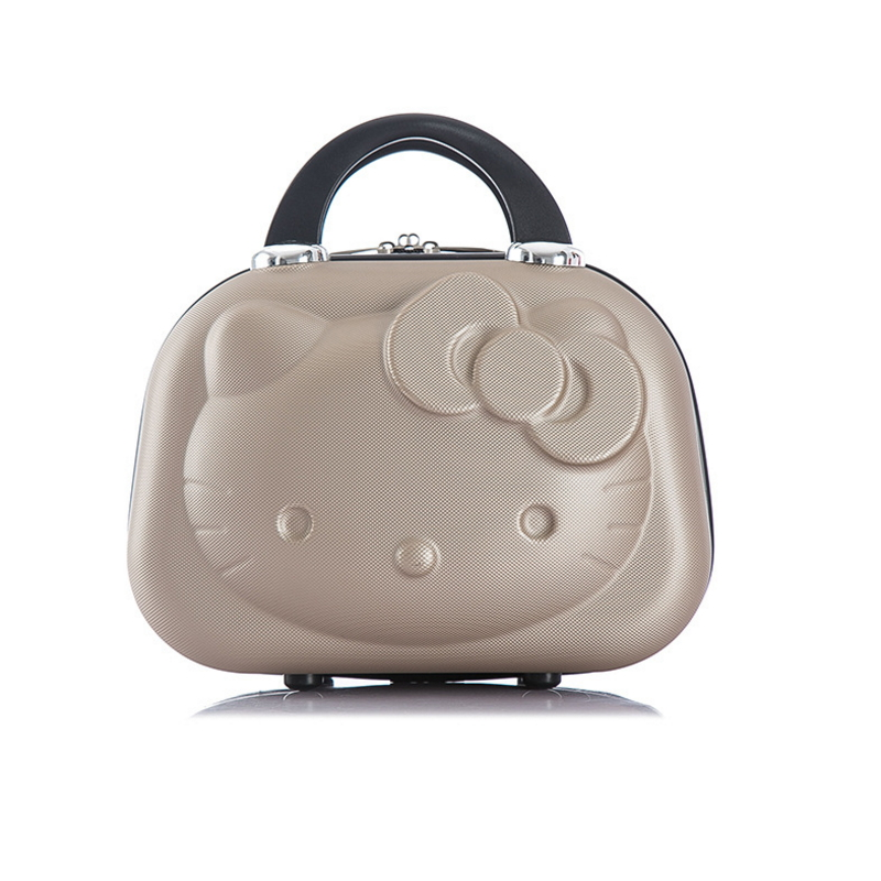 Suitcases Luggage 3dhello-Kitty Portable Children's Adult Can-Be-Selected A-Variety-Of-Colors