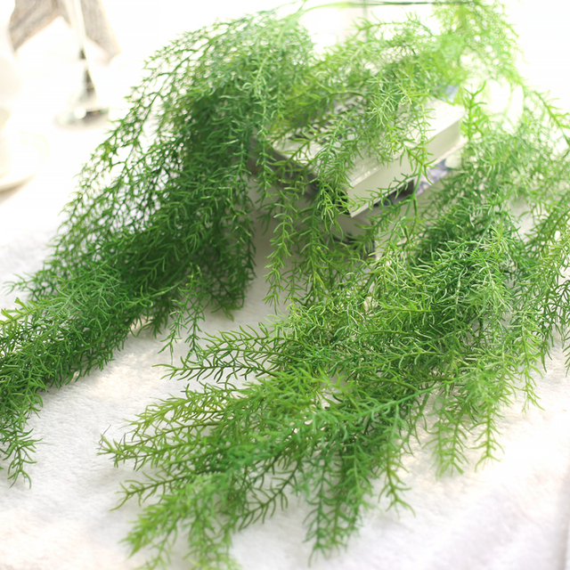 43inch long artificial hanging plants for home decoration fake ivy