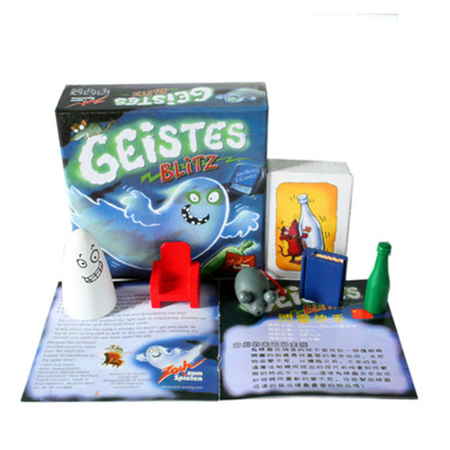 Geistes Blitz 1 Board Game 2-8 Players FamilyParty Best Gift for Children English Instructions Cards Game Reaction Game