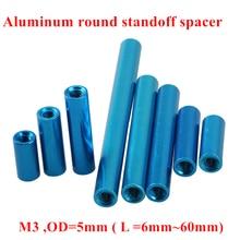 10pcs M3 Aluminum Post standoffs M3*6/8/10/12/15/20/25/30/35/37/40/50mm Aluminum round standoff spacer Spacing screws RC Model 10pcs m3 5 6 8 10 12 15 20 25 30 35 40 45 50 m3 thread black aluminum round standoff spacer for rc parts