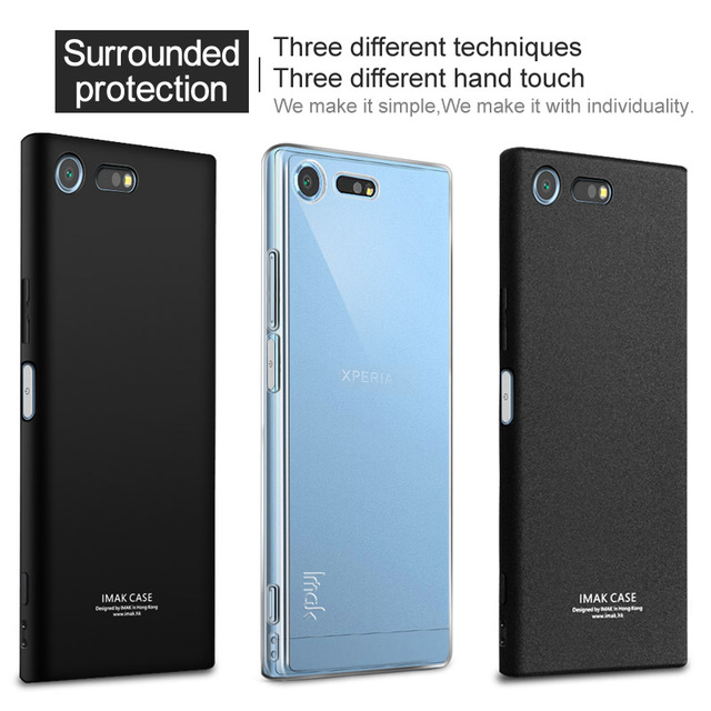 brand new c685d 6eaf8 US $7.3 |IMAK For Sony Xperia XZ Premium Cover Case Shockproof Silicon Soft  TPU Phone Back Cover For Xperia XZ Premium E5563 with Gift-in Fitted Cases  ...