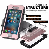 AD Button Series Advanced Version Outdoor Phone Case For Iphone 6 6S Full Body Cover IP68