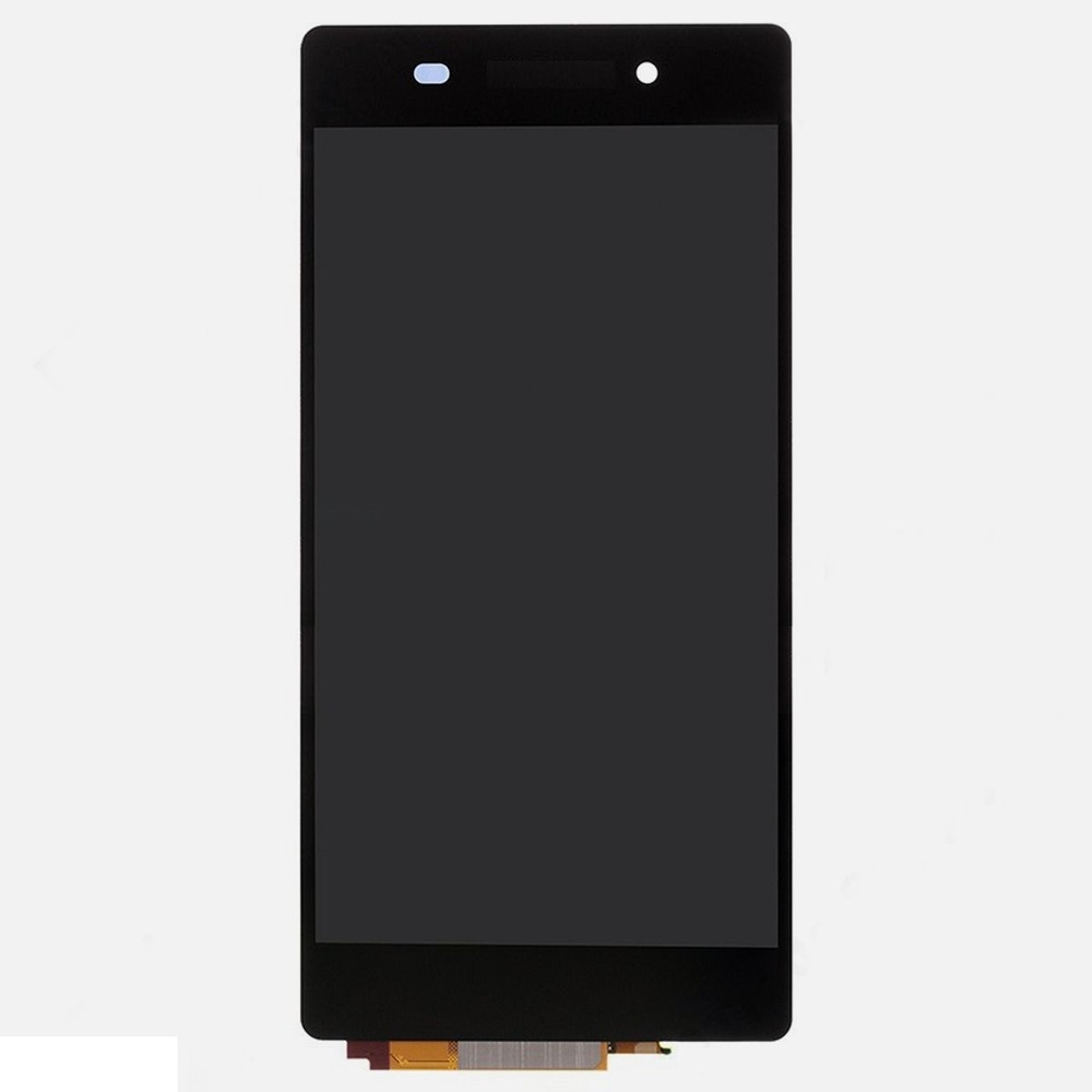 For 5Pcs/lot Xperia Z2 L50w D6502 D6503 D6543 Black Color LCD And Touch Screen Digitizer Assembly No Frame