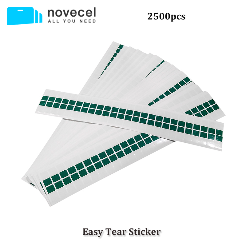 2500PCS/Lot OCA / Polarizer /Glas Easy Tear <font><b>Stickers</b></font> for iPhone and For Samsung Any TAPE Easy tear <font><b>stickers</b></font> Tear OCA Laminating image