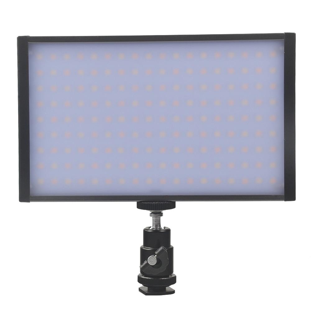 Video Camera Light Bi color Temperature Adjustable