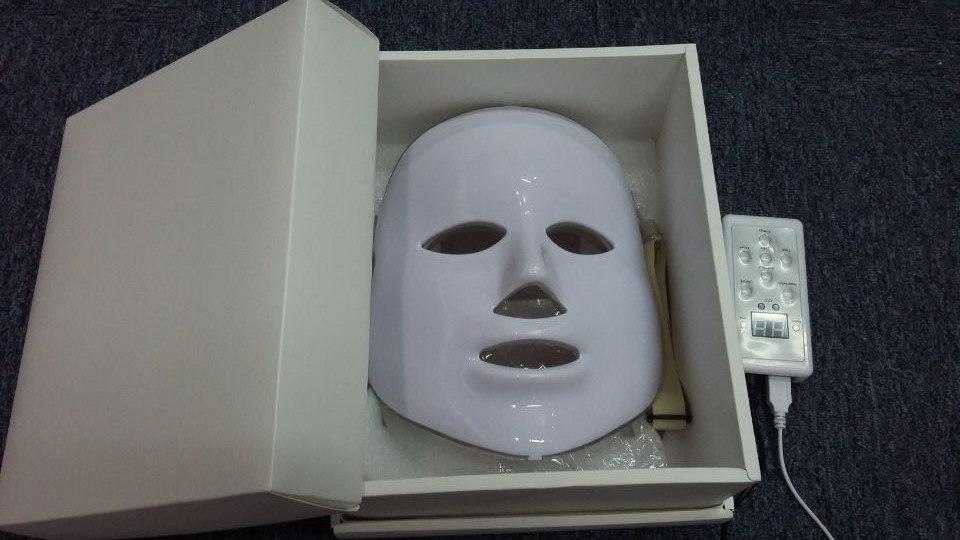 New LED Facial Mask face skin care Led Photon Facial PDT mask Skin Rejuvenation font b