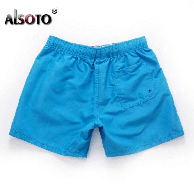 Swimsuit Beach Quick Drying Trunks For Men Swimwear sunga Boxer Briefs zwembroek heren mayo Board shorts Fast Dry Trunks 4