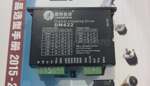 New Leadshine 2-phase DM422 Digital Stepper Motor Drives work 24-40VDC/out 2.2A Fit for the size NEMA 14 -17 Stepper motor