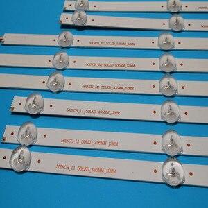 """Image 4 - Original LED Backlight strip 10 lamp For LG 50"""" TV 50LN5400 50LA620V 6916L 1276A 6916L 1273A 6916L 1272A 6916L 1241A 50LA6208"""