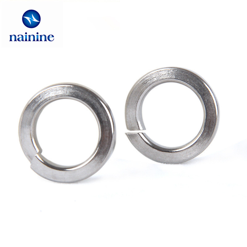 3mm Internal Diameter A2 STAINLESS STEEL Spring Washers M3