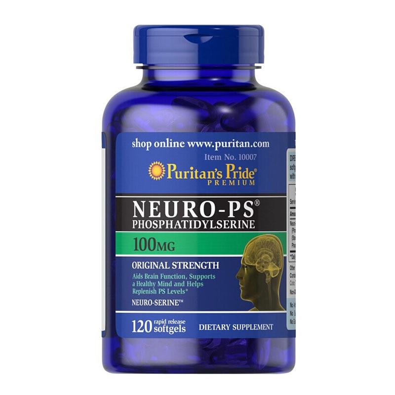 Free Shipping Neuro-PS phosphatidylserine 100 mg 120 pcsFree Shipping Neuro-PS phosphatidylserine 100 mg 120 pcs