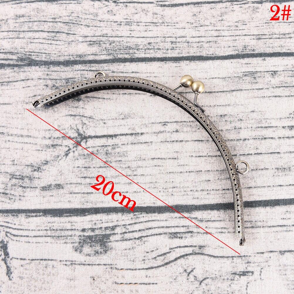 Luggage & Bags Buy Cheap Light Gold Diy Purse Handbag Handle 5sizes Coins Bags Metal Kiss Clasp Lock Frame 8.5-20cm For Diy Purse Bag Accessories
