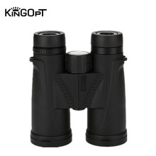 KINGOPT 10x42 Binoculars HD Waterproof Lll Night Vision Wide-angle Binocular Telescopes Portable Outdoor Hunting Traveling Tools