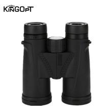 лучшая цена KINGOPT 10x42 Binoculars HD Waterproof Lll Night Vision Wide-angle Binocular Telescopes Portable Outdoor Hunting Traveling Tools