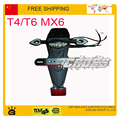 T6 T4 MX6 kayo zhenglin Off-road Moto Dirt Bike LED Luz Trasera LED giro guardabarros Trasero Cola luz de Freno luces