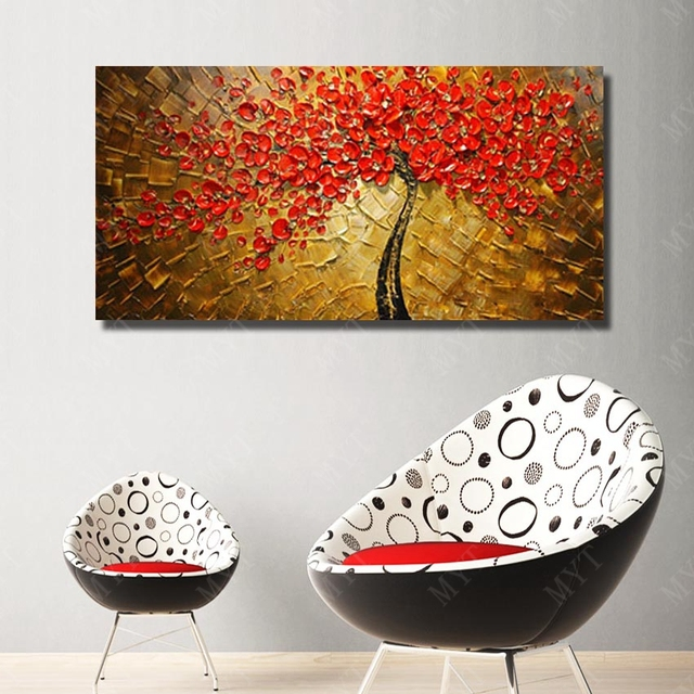 100 Handpainted Several Colors Designed Unique Gift Home Decoration Wall Art Picture Acrylic Paint For