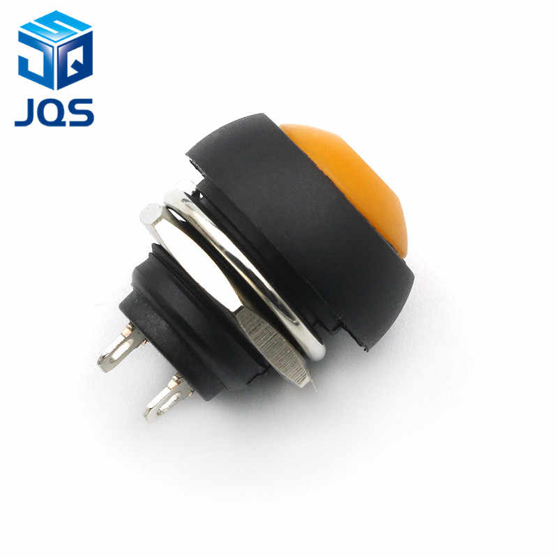 12mm PBS-33B impermeable momentáneo ON OFF botón switch Mini Interruptor redondo