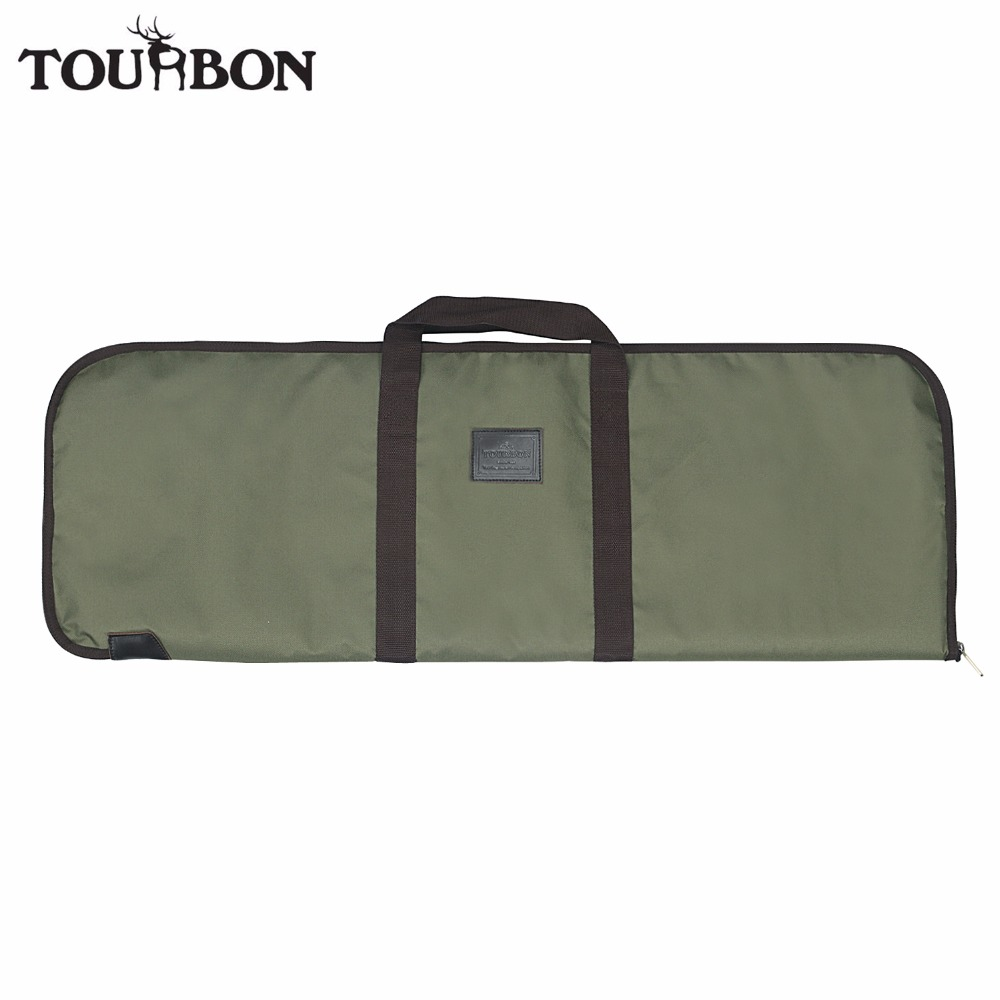 Tourbon Hunting Gun Accessories Takedown Rifle Pouch Break down Shotgun Case Over Under Nylon Backpack 93cm