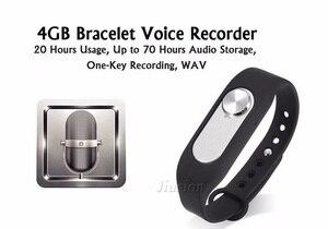 8GB Digital Voice Recorder Audio Recording Pen Hidden Grabadora Esipa Best Device Gravar Ocultas Bracelet Wearrable