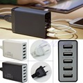 NEW 5V/8A 5 Port USB Hub Wall Charger Travel Adapter For Samsung Tablets iPhone6 EU Plug