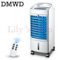 DMWD Fuerte Viento del Verano Portátil Refrigerador Ventilador de refrigeración Del Acondicionador de Aire Acondicionado humidificador enfriador de agua enfriado por control remoto