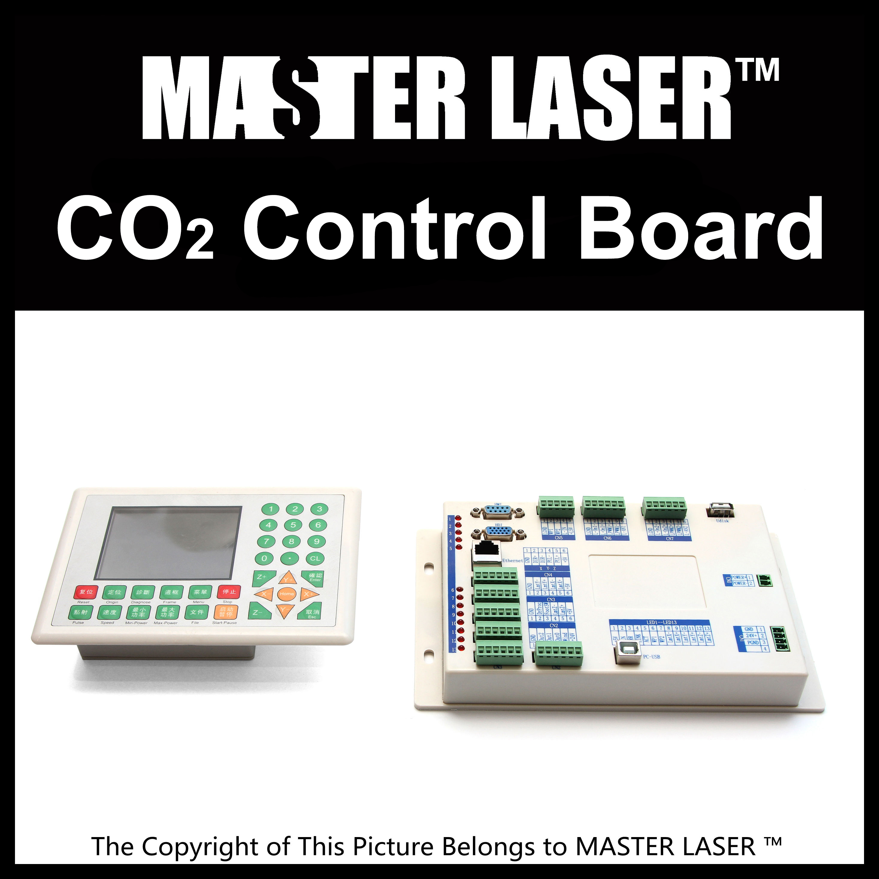 Good Quality new generation Laser Control Board Control System for Laser Cutting Machine