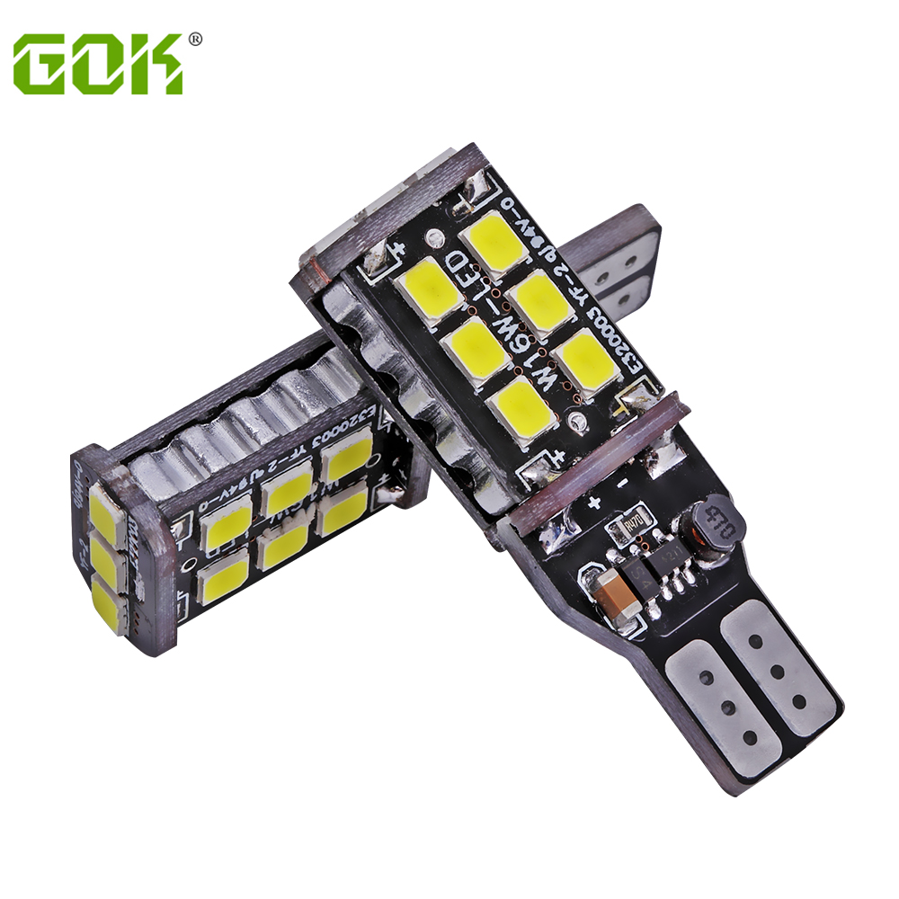 New Super Bright!! 10PCS T10 led Canbus t10 15led 2835 smd NO ERROR CANBUS 12V 24V DC SMD White light w5w Led canbus ERROR Free 10pcs super bright led lamp t10 w5w 194 6smd 4014 error free canbus interior bulb white for car dc 12v free shipping new