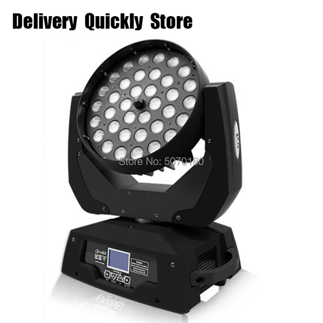 Goed wassen effect disco Led 36 pcs 10 W RGBW 4IN1 Zoom Moving Head goed Gebruik voor Home entertainment party KTV Night Club Dance