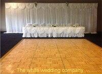 3x6 м белый шелк фонов свадьба фон украшения со съемной swag