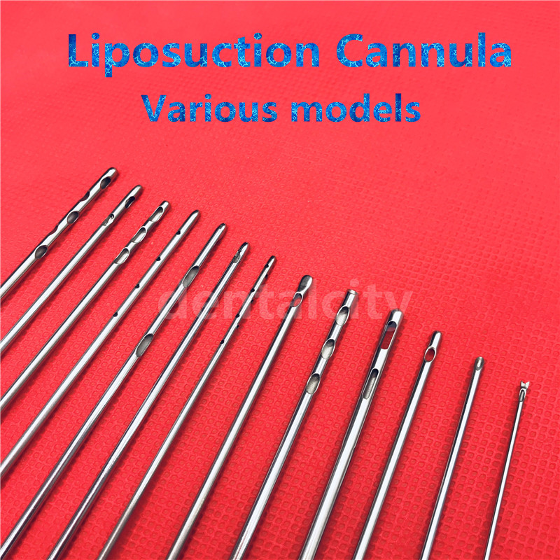 Best Plastic Surgery pair Hole Inject Cannula Micro Cannula Liposuction tools Liposuction Cannulas in Face Skin Care Tools from Beauty Health