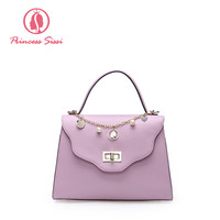 Princess Sissi Luxury Handbags Women Bags Designer Crossbody Bag Famous Brand Candy Color Chain Pendants Girls