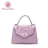 Princess Sissi Luxury Handbags Women Bags Designer Crossbody Bag Famous Brand Candy Color Chain Pendants Girls