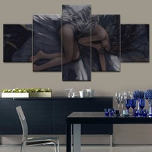 Artwork Wall Art Modern 5 Pieces HD Printing Canvas Painting Ghost blade Type Poster For Home Decorations Bedroom Living Room