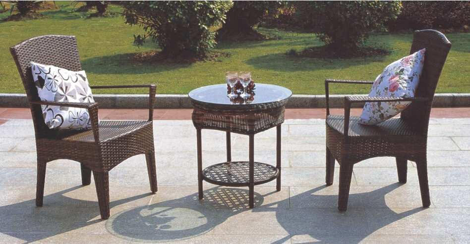 2016 Outdoor Wicker Furniture Sets PE rattan chair 2chairs and 1 table все цены