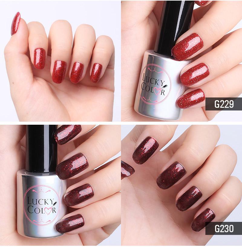 Diamond Red UV Gel Polish For Nail Art Professional LED Soak Off Gel Varnish Lacquer High Quality Free Shipping 10ml Bottle_04