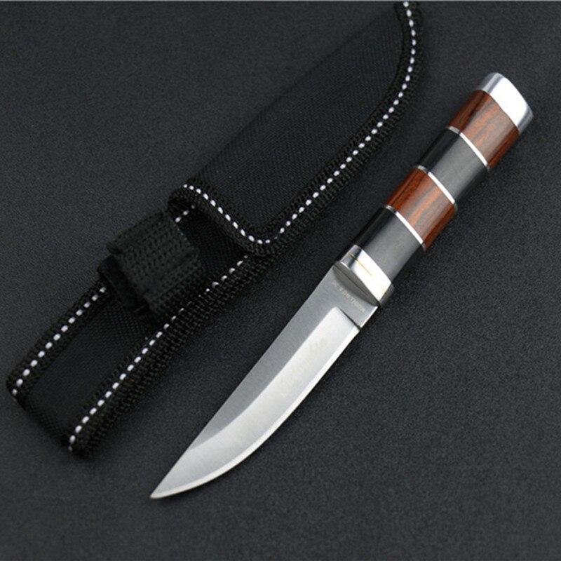 Lâmina fixa faca tática cs ir counter strike facas de caça ferramentas acampamento herramientas faceta couteau pliant zakmes real