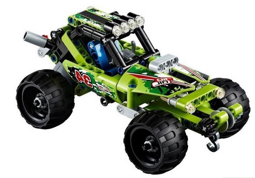 ФОТО decool 3411-3414 high technic 2 in 1 warrior off-roader racer car model 3d building block sets warrior sports car brick toys