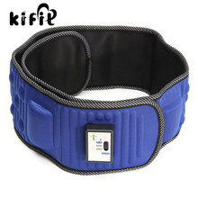 KIFIT Convenient Electric Lose Weight Fitness Massage Belt Abdominal Tummy Slimming Belly